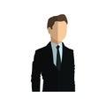 Businessman cartoon icon