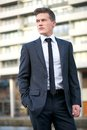 Businessman in the City Royalty Free Stock Photo