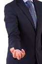 Businessman gesturing with hand business man Royalty Free Stock Images
