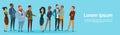 Businessman Handshake Businesspeople Group Team Hand Shake Agreement Concept