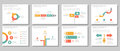Business multipurpose infographic element flat design set Royalty Free Stock Photo