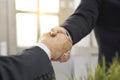 Businessman shake hand Royalty Free Stock Photo