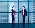 Businessman Success Agreement Concept