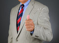 Businessman Thumbs UP Stock Photos