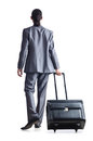 Businessman on travel days Royalty Free Stock Photography
