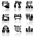 Businessman vector icons set eps file available Stock Images