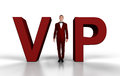 Businessman VIP Royalty Free Stock Photo