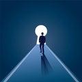 Businessman Vision Concept