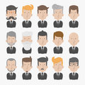 Businessman with white background eps vector format Royalty Free Stock Images