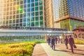 Businessmen commuter walking Tokyo Royalty Free Stock Photo