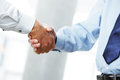 Businessmen shaking hands business deal close up of a handshake Stock Photo