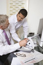 Businessmen Working In Office Royalty Free Stock Image