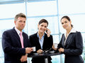 Businesspeople having coffee break Royalty Free Stock Image