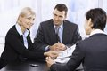 Businessteam at meeting Royalty Free Stock Photo