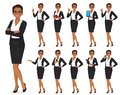 Businesswoman character set