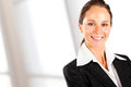 Businesswoman closeup portrait Royalty Free Stock Photography