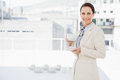 Businesswoman enjoying her cup of coffee Royalty Free Stock Photo
