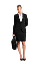 Businesswoman full length Royalty Free Stock Photo