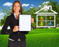 https---www.dreamstime.com-stock-photo-hand-businesswoman-holding-house-icon-concept-image107133177