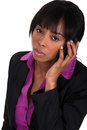 Businesswoman making a call Royalty Free Stock Photo