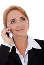 Businesswoman making phone call Royalty Free Stock Photo