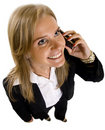 Businesswoman on Phone Royalty Free Stock Photo