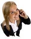 Businesswoman on Phone Royalty Free Stock Photo