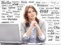 Businesswoman Or Teacher In Of...