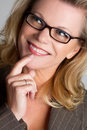 Businesswoman Thinking Royalty Free Stock Photo
