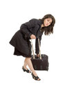 Businesswoman Traveler Royalty Free Stock Photos