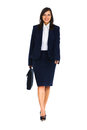 Businesswoman walking Royalty Free Stock Photo