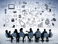 Bussiness Discussion Royalty Free Stock Photo