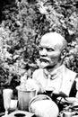 Bust of Lenin Stock Photo