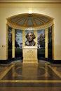 Photo : Bust of President George Washington  william reagan
