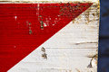 Busto arsizio abstract wood italy and white red stripe
