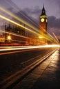 Image : Busy big ben  twilight