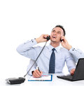 Busy Businessman Stock Photography