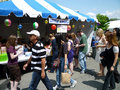 Busy Day at the Greek Festival Royalty Free Stock Image