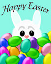 Busy Easter bunny Royalty Free Stock Photos