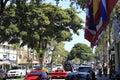 Busy Las Olas Boulevard Royalty Free Stock Photo