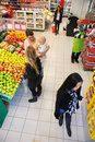Busy Supermarket Stock Images