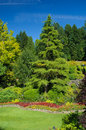 Butchart gardens victoria bc march named as one of top north american on march photo from july Royalty Free Stock Photography