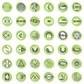 Buton design Royalty Free Stock Photo