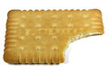 Butter biscuit Royalty Free Stock Photo