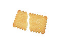 Butter biscuit. Royalty Free Stock Photo