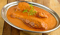 Butter chicken curry indian dish of Royalty Free Stock Image