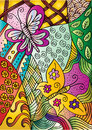 Butterflies with decorative style.