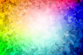 1000 Butterflies Rainbow colored Background