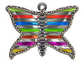 Butterfly Brooch Royalty Free Stock Photo
