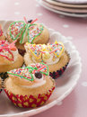 Butterfly Cup Cakes Royalty Free Stock Photography